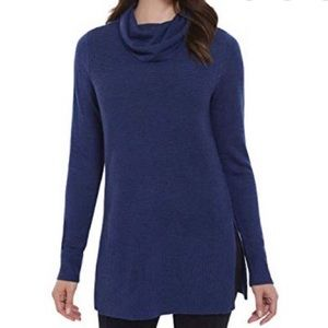 Adrienne Vittadini cowl neck sweater